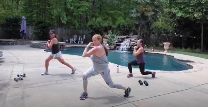 Cardio Strength Workout with Sheila!